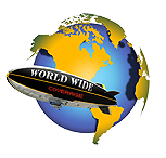 WORLD WIDE Airship Blimp