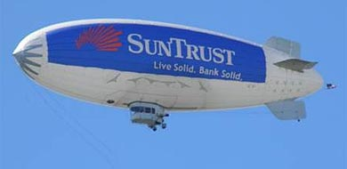 advertising blimp