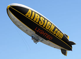 advertising airship
