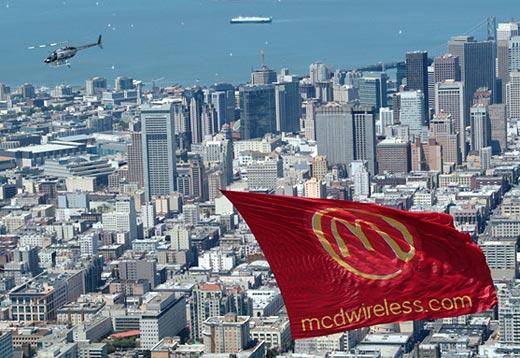 mcdonalds heli-banner